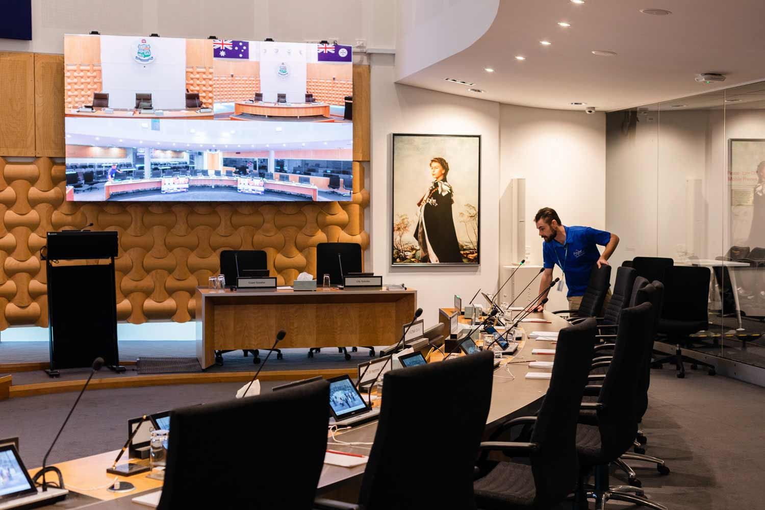 City of Gold Coast Council Chambers